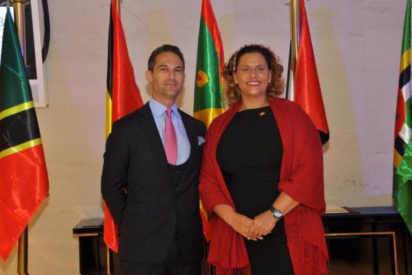Jeremy-Savory-&-Alexandra-Otway-Noel-(Minister-of-Tourism-of-Grenada)