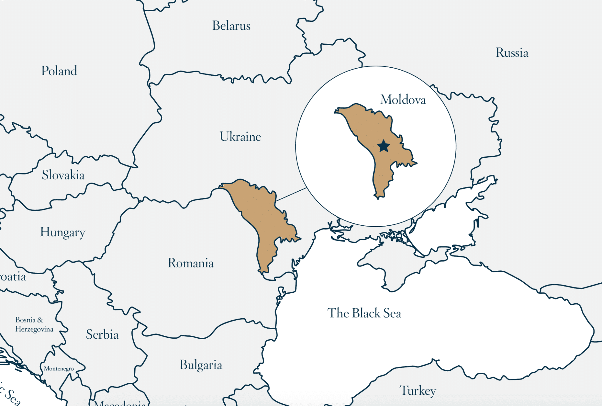 Savory & Partners Where is Moldova? - Map of Moldova
