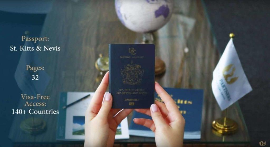 جنسية سانت كيتس ونيفيس عن طريق الإستثمار - جواز السفر المستخدم لمدة ٤ سنوات