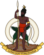 Coat of Arms of Vanuatu - CItizenship by Investment - Savory and Partners
