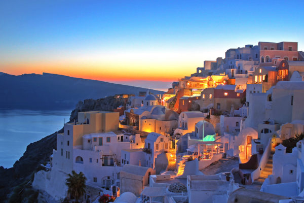 Sunset in Santorini - Greece Residency by Investment - Savory & Partners - Dubai, UAE