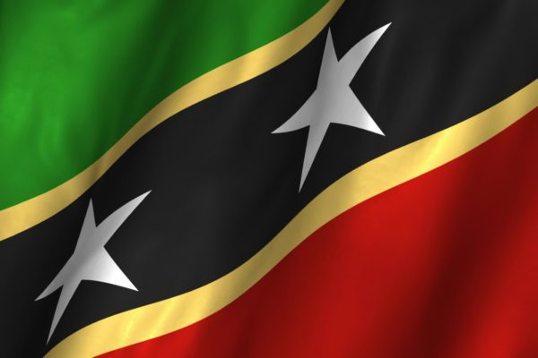 Flag of Saint Kitts and Nevis - Saint Kitts and Nevis Citizenship by Investment - Savory & Partners - Dubai, UAE