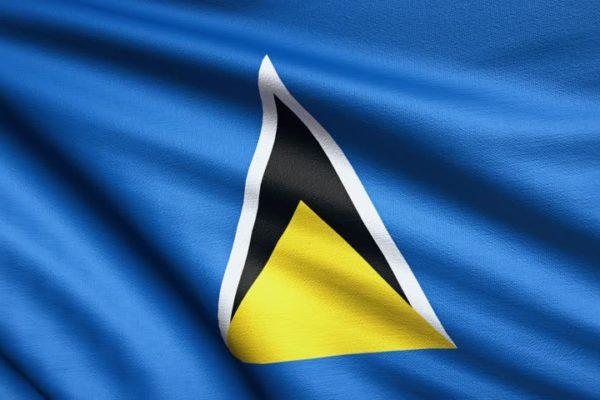 Flag from Saint Lucia - Saint Lucia Citizenship by Investment - Savory & Partners - Dubai, UAE
