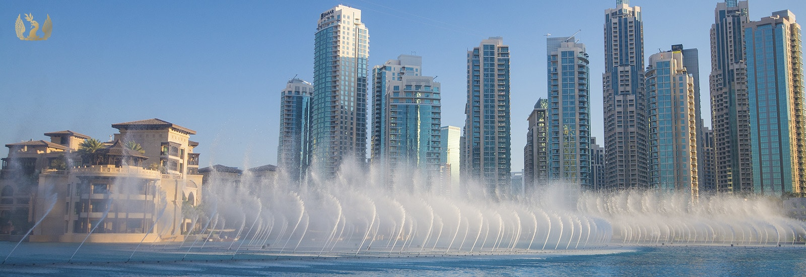 Dubai Fountain at Downtown Dubai