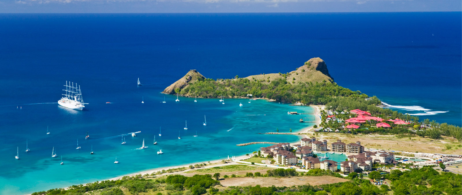 Saint Lucia captivates anyone who sets foot on its coastline. Always evocative, it welcomes visitors with its soothing waves, warm beaches, and hospitable people.