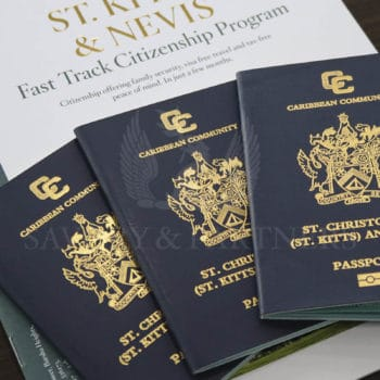 What is the reduced price of St Kitts and Nevis passport?