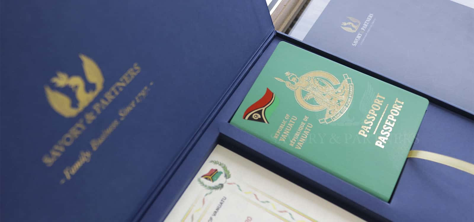 Passport granted through Vanuatu citizenship by investment program