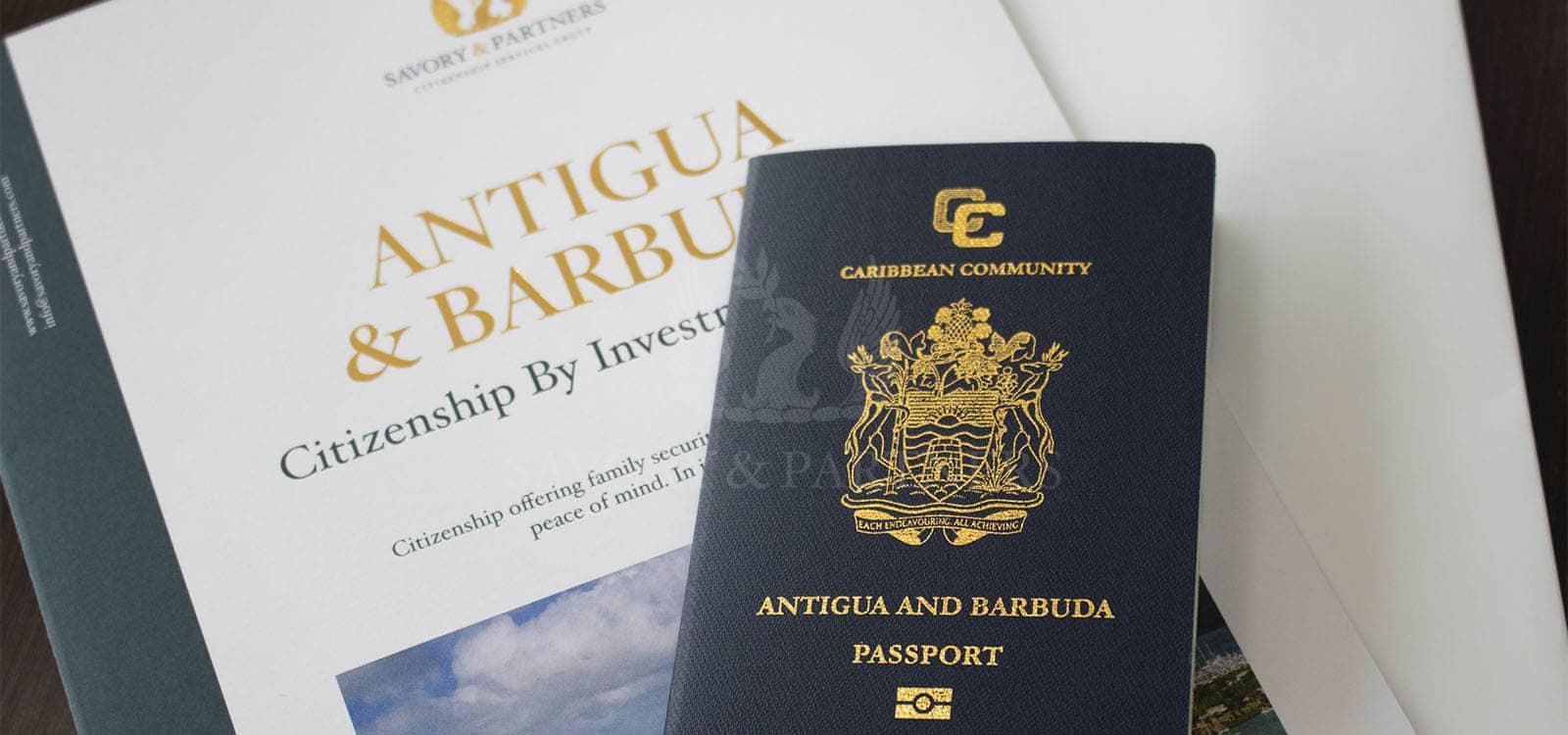 Antigua and Barbuda citizenship and passport.