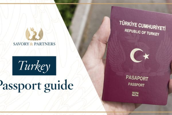 Turkey Citizenship by Investment Program Guide - Savory & Partners
