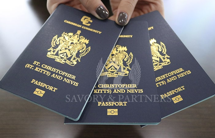 St Kitts & Nevis citizens enjoy visa-free and visa-on-arrival travel to over 150 countries