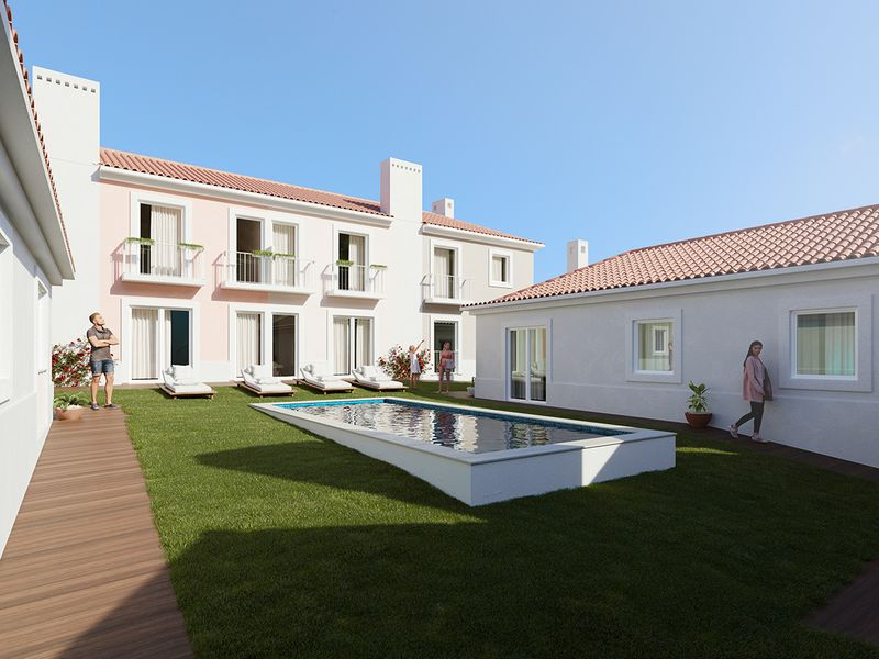 Two-bedrooom apartment one hour from Lisbon for €280,000