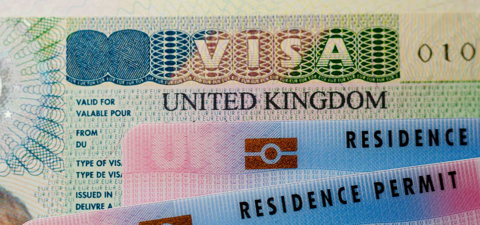 UK visa and EU residence permit