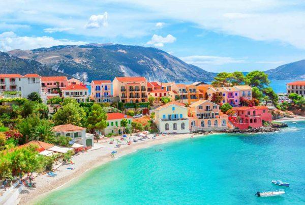 Coast in Greece.