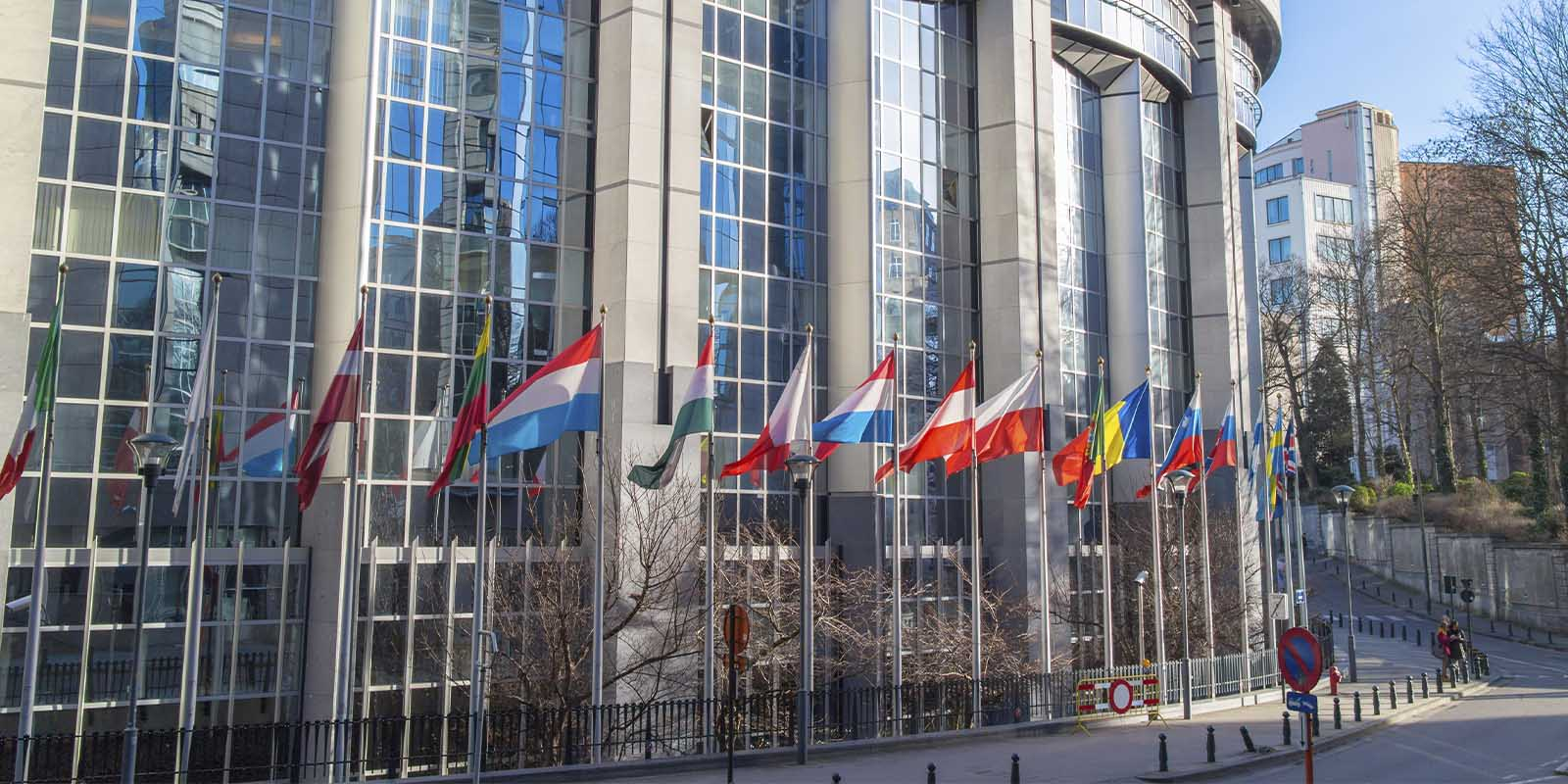 European Parliament offices in Brussels