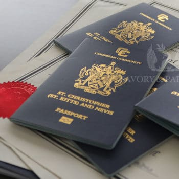 How much is a St. Kitts & Nevis Passport?