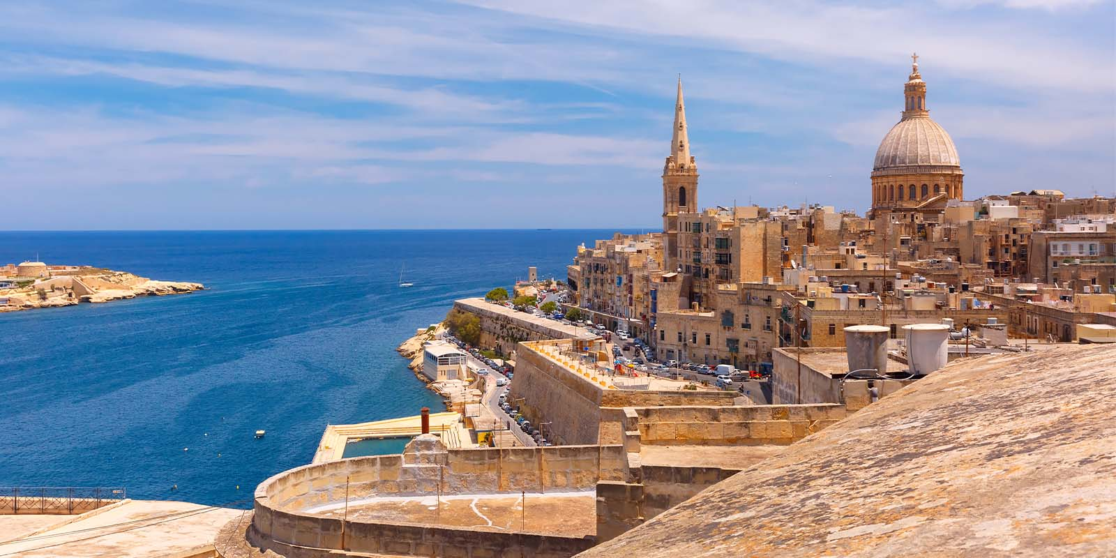 EU residency can be attained in Malta starting from €100,000.