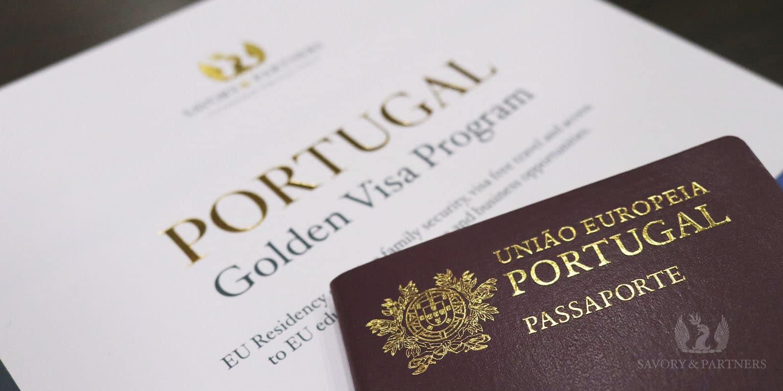 Portuguese passport - Savory & Partners - Dubai, UAE