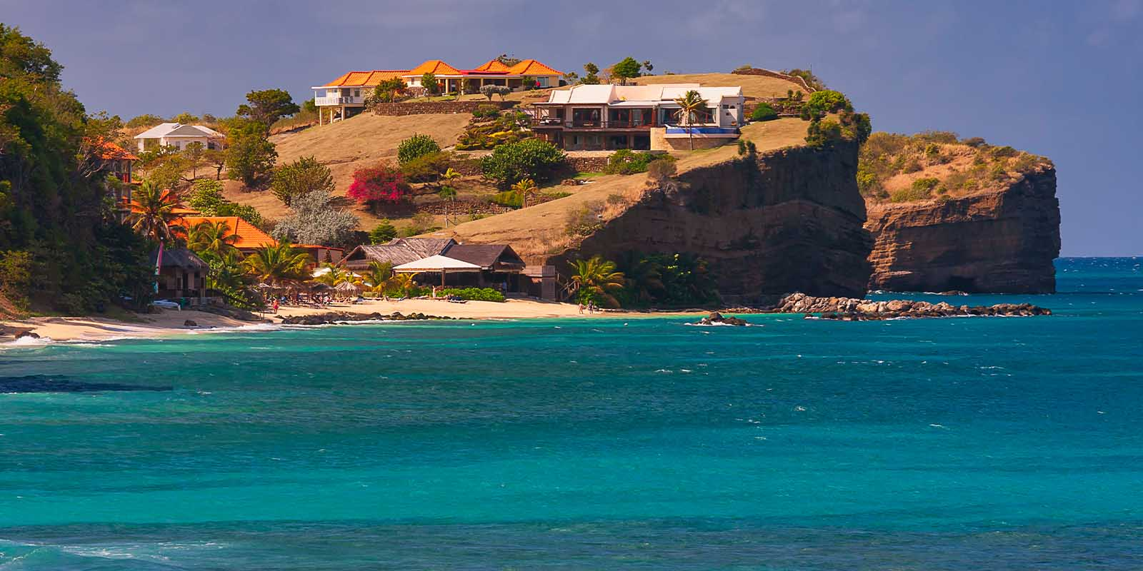 Grenada Island in the Caribbean.