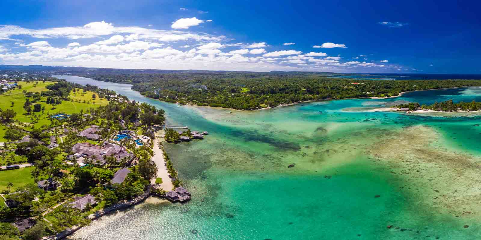 Vanuatu is an archipelago nation spread across 82 islands situated just between New Zealand and Australia