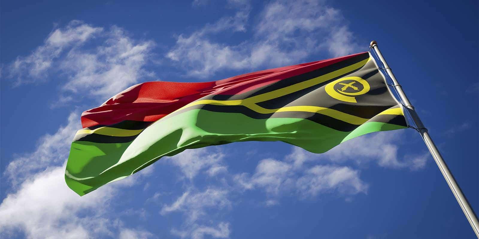 Vanuatu Flag - Savory & Partners
