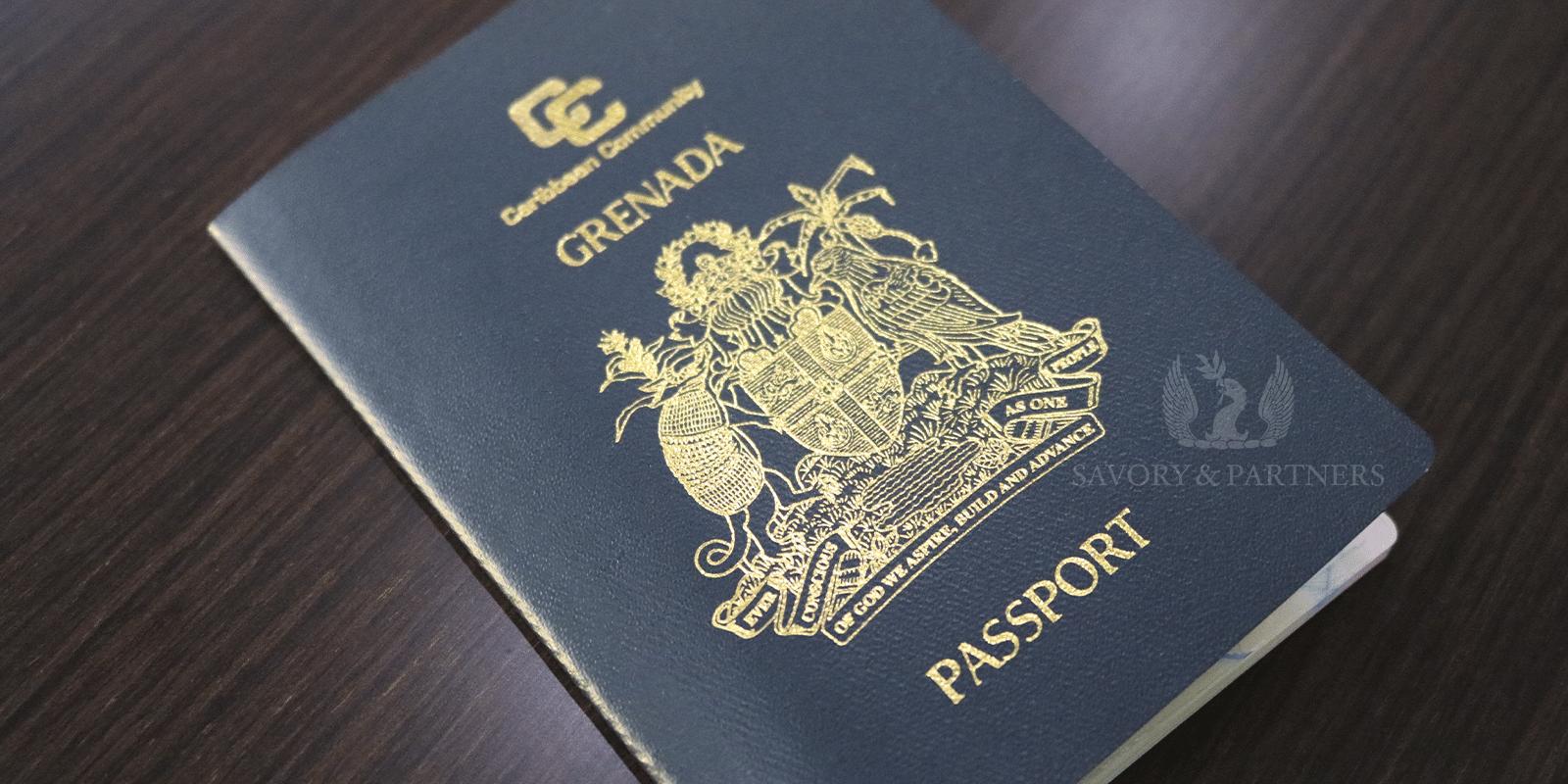 Grenada Passport - Savory & Partners