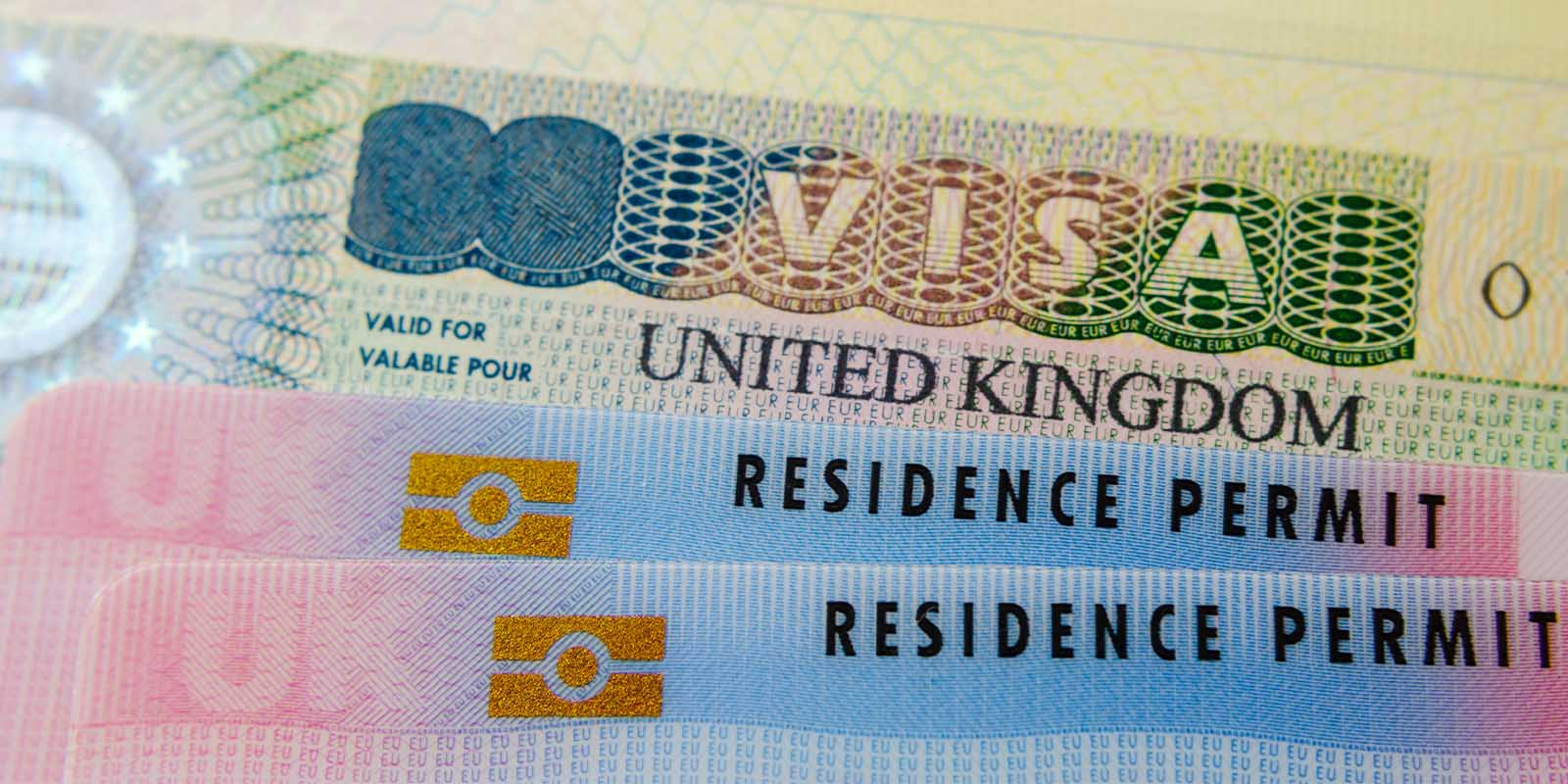 Visa from the United kingdom and European residence cards