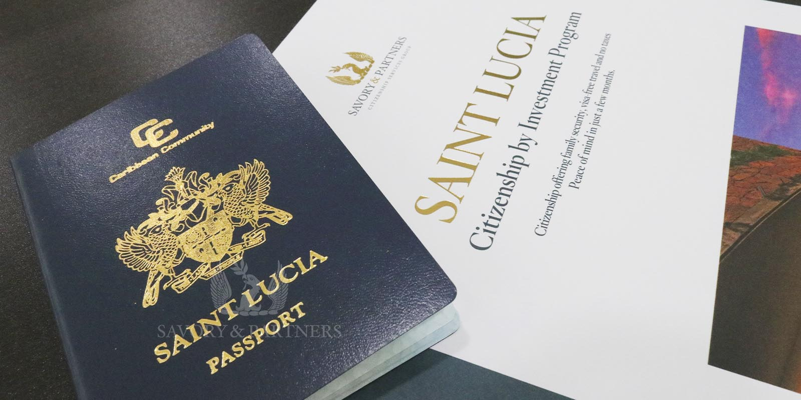 St Lucia Citizenship by Investment Program - Savory & Partners