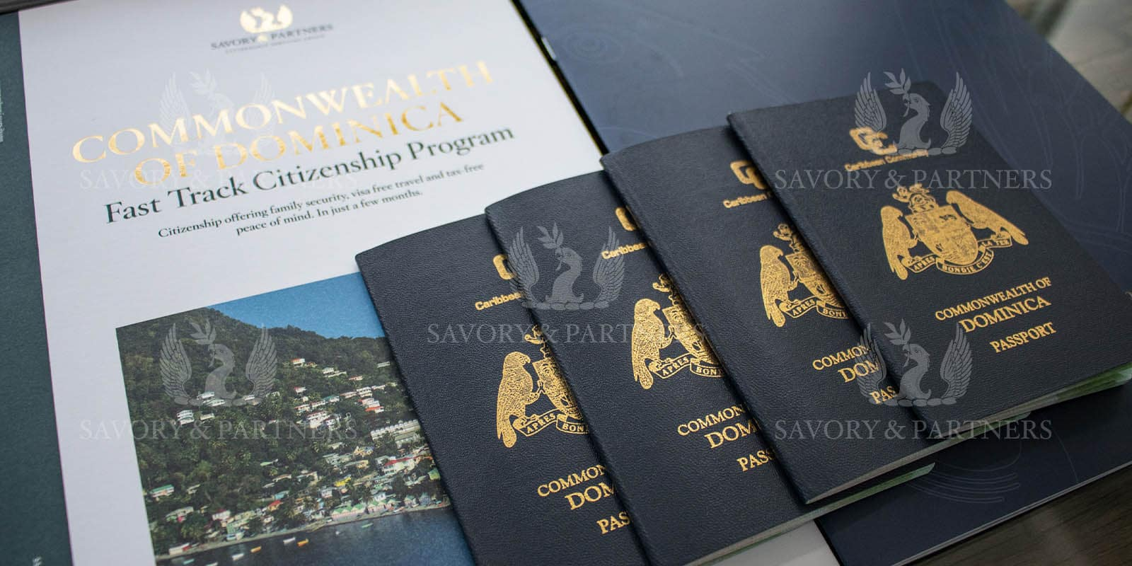 Commonwealth of Dominica announces the launch of its new biometric passport