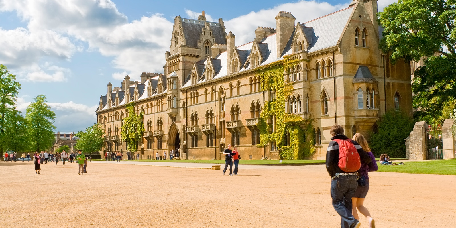 Established in 1546, Christ Church is one of the largest constituent colleges of the University of Oxford